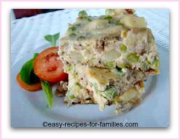 A recipe easy healthy turkey mince fritata