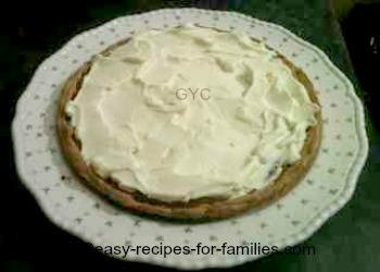 Delicious creamy traditional pumpkin pie