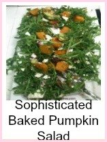 Baked Pumpkin Apple Salad