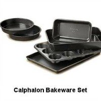 Calphalon Bakeware Set of 6 pieces. Non Stick, Heavy Gauge Steel. CLICK HERE FOR MORE DETAILS.