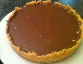 Grandma's no-bake chocolate pie