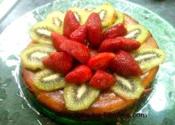 Crustless Pumpkin Pie Plated