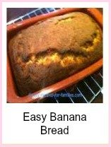 easy banana bread recipe. So simple!