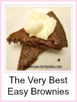 The very best easy brownies for dessert