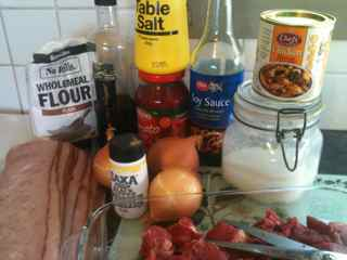Easy Casserole Recipe Boeuf St Ives Ingredients