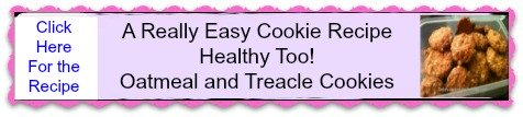 An easy cookie recipe personal ad for oatmeal and treacle cookies
