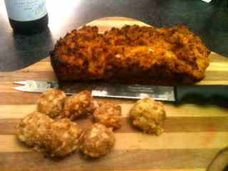 Easy Dinner Party Menu For Four - Pumpkin Bread And Cheese Balls