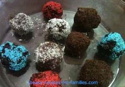 Easy Kids Recipes - Cake Balls