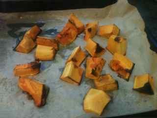 Easy No Yeast Pumpkin Bread- Roasted Pumpkin Pieces