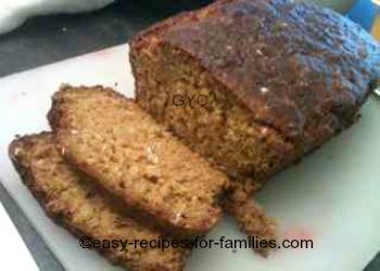 Easy pumpkin bread sliced thickly