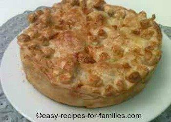 Plated Homemade Pumpkin Pie