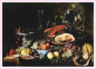 Heem Boijmans Still Life 17th Century Painting