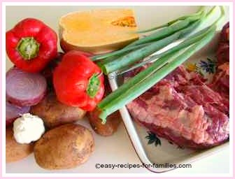 how to cook lamb and vegetables roasted
