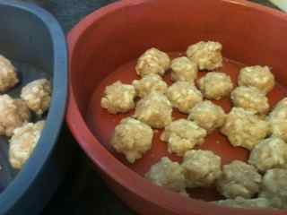 Easy Cheesy Balls Place On Non Stick Bakeware