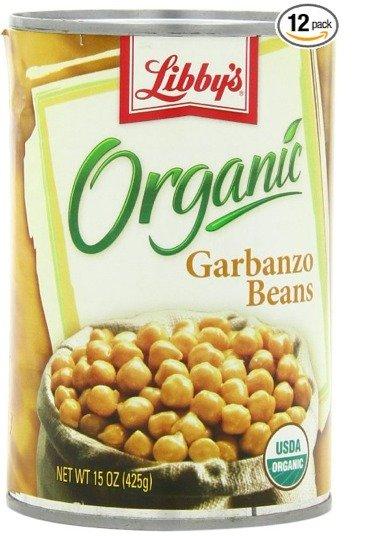 Libbys Organic Garbanzo Beans  - Chick Peas