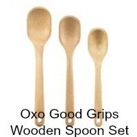 OXO Good Grips Wooden Spoon Set of 3. CLICK HERE FOR MORE DETAILS