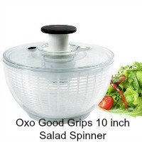 OXO Good Grips 10 In. Salad Spinner. CLICK HERE FOR MORE DETAILS.