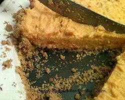 Pumpkin Cheesecake Recipe Served