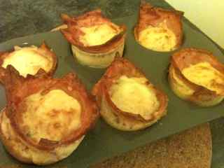 Bacon and Egg Pielets