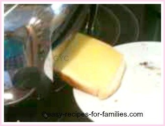cheese toast is a quick and easy kid receipes