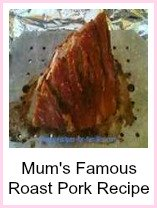Mum's famous roast pork recipe