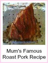 Mum's famous roast pork recipe